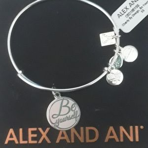 """ALEX AND ANI'S """"BE YOURSELF"""" STERLING NWT!"""